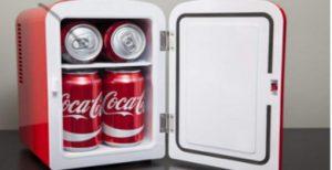 refrigerador cocacola