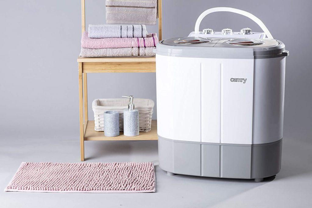 mini lavadora con centrifugado